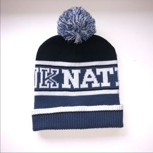 PINK Nation Blue Beanie